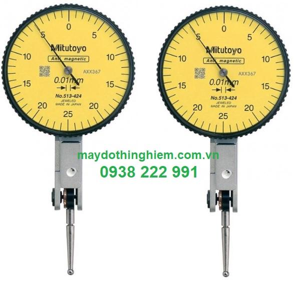 Đồng hồ so Mitutoyo chân gập 513-424E - maydothinghiem.com.vn - 0938 222 991