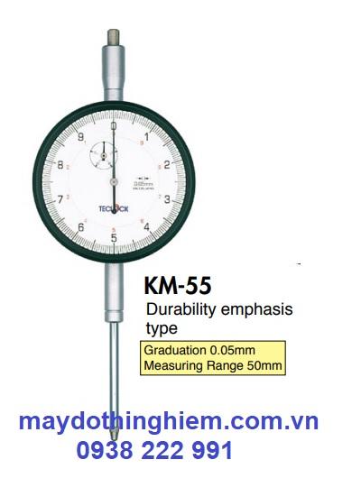 Đồng hồ so Teclock KM-55 - maydothinghiem.com.vn