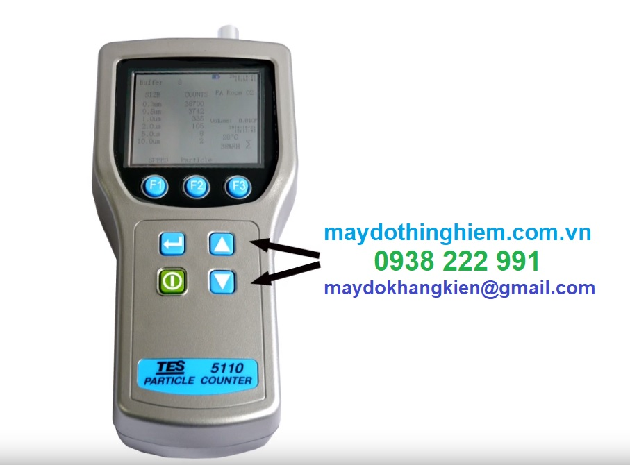 Máy đếm hạt bụi TES-5110 - 0938 222 991 - maydothinghiem.com.vn