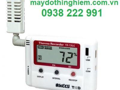 Thiết bị đo nhiệt độ độ ẩm T&D TR-72Ui - maydothinghiem.com.vn - 0938 222 991
