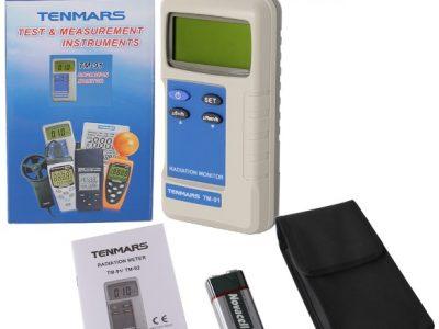 Máy đo phóng xạ Tenmars TM-91 - maydothinghiem.com.vn - 0938 222 991