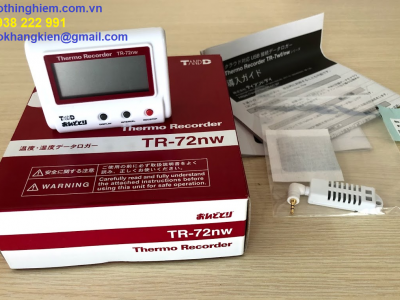 Nhiệt ẩm kế tự ghi T&D TR-72NW - maydothinghiem.com.vn - 0938 222 991
