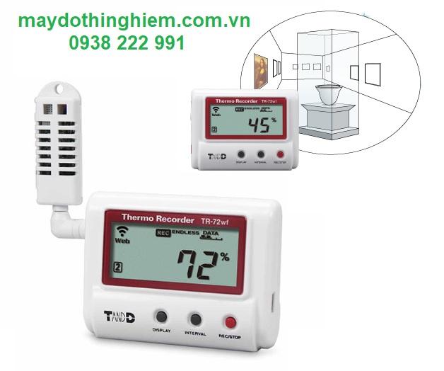 Nhiệt ẩm kế tự ghi T&D TR-72WF - maydothinghiem.com.vn - 0938 222 991
