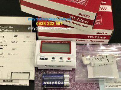 Nhiệt ẩm kế tự ghi T&D TR-72WF - maydothinghiem.com.vn