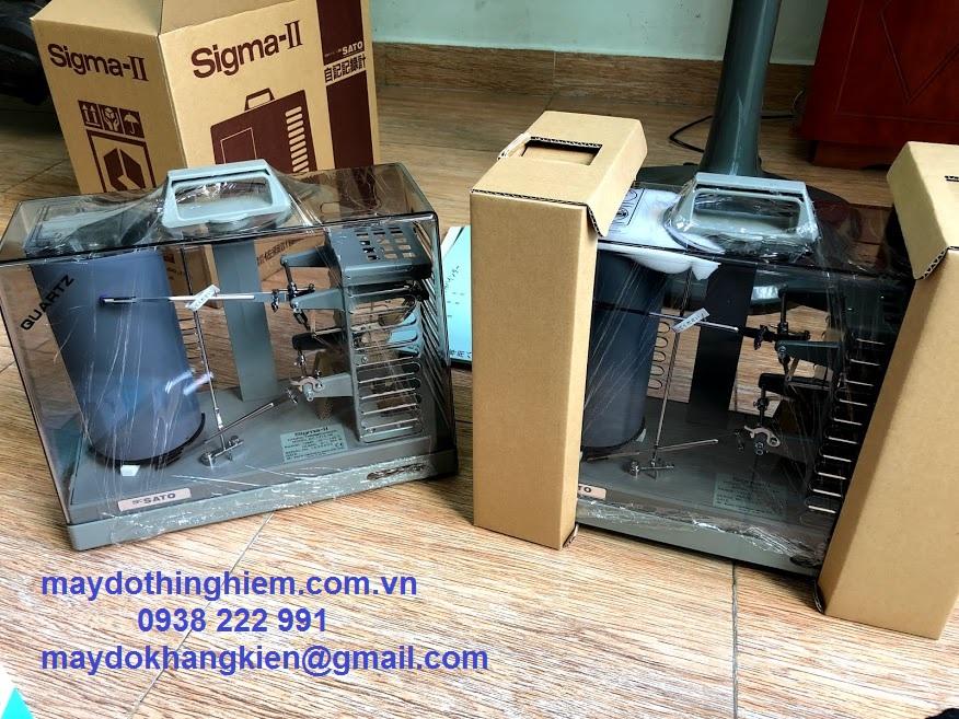 Nhiệt kế tự ghi Sato 7211-00 Sigma II NSII-Q - maydothinghiem.com.vn - 0938 22 991