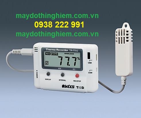 Thiết bị ghi nhiệt độ độ ẩm T&D TR-77Ui - maydothinghiem.com.vn - 0938 222 991
