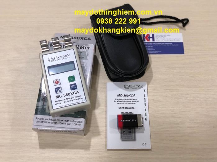 Máy đo độ ẩm Exotek MC-380XCA - maydothinghiem.com.vn - 0938 222 991