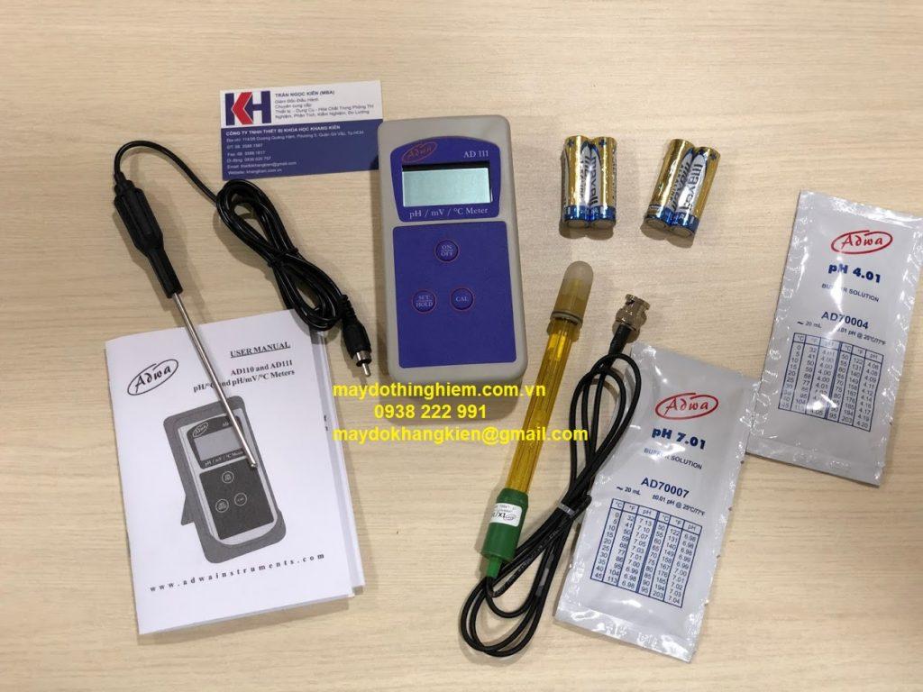 Máy đo PH Adwai AD111 - 0938 222 991