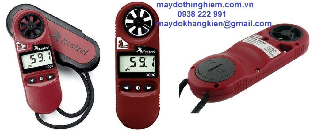 Máy đo tốc độ gió Kestrel 3000 - maydothinghiem.com.vn