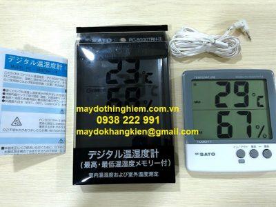 Nhiệt ẩm kế Sato PC-5000TRH II - maydothinghiem.com.vn - 0938 222 991