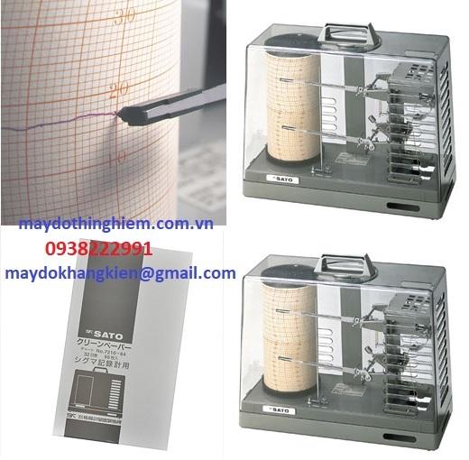 Giấy ghi nhiệt 32 ngày Sato 7210-64 - 0938222991- maydokhangkien@gmail.com
