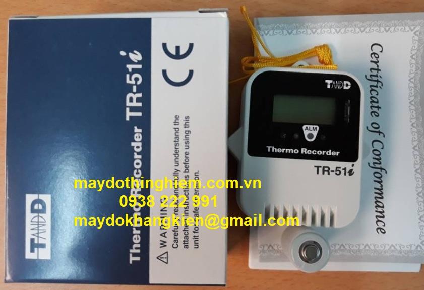Nhiệt Kế Tự Ghi T&D TR-51i - maydokhangkien@gmail -  0938 222 991