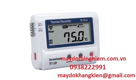 Nhiệt kế tự ghi T&D TR-75nw-maydothinghiem.com.vn-0938222991