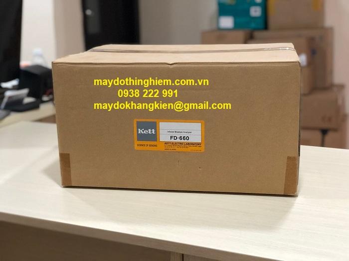 Cân sấy ẩm FD 660 - Kett đóng gói