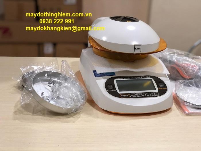 Cân sấy ẩm FD 660 - maydothinghiem.com.vn