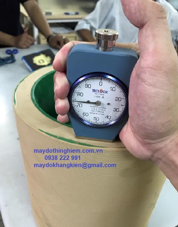 Nguyên lý đo độ cứng cao su - maydothinghiem.com.vn
