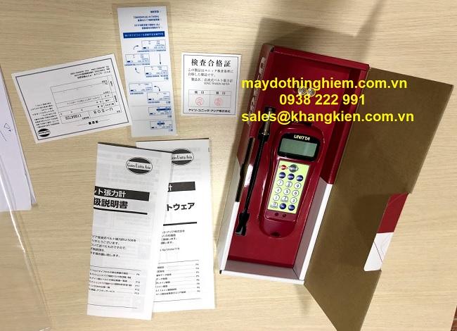 Cách nhập dữ liệu cho máy Unitta U-508 - maydothinghiem.com.vn