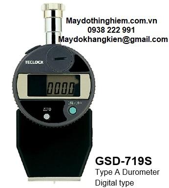 Đồng hồ đo độ cứng cao su GSD-719S Teclock