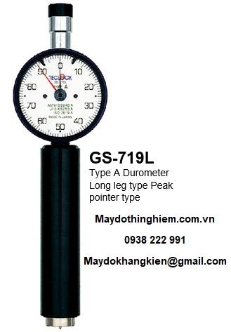 Đồng hồ đo độ cứng cao su lỗ GS-719L Teclock