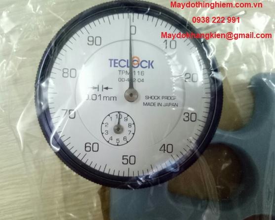 Đồng hồ đo độ dày thành ống TPM-116 Teclock