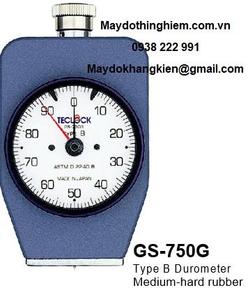 Đồng hồ đo độ cứng cao su GS-750G Teclock