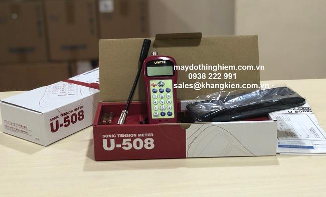 Hướng dẫn sử dụng máy đo lực căng dây đai U-508 - maydothinghiem.com.vn - 0938 222 991