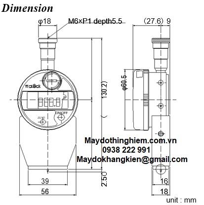 Sơ đồ kĩ thuật của GSD-719S