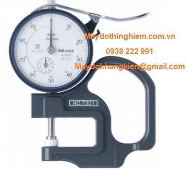 Thước đo độ dày vải Mitutoyo 7301