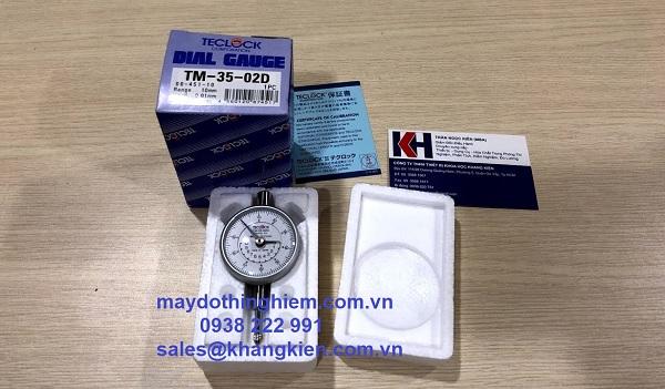 Đồng hồ so Teclock TM-35-02D - maydothinghiem.com.vn