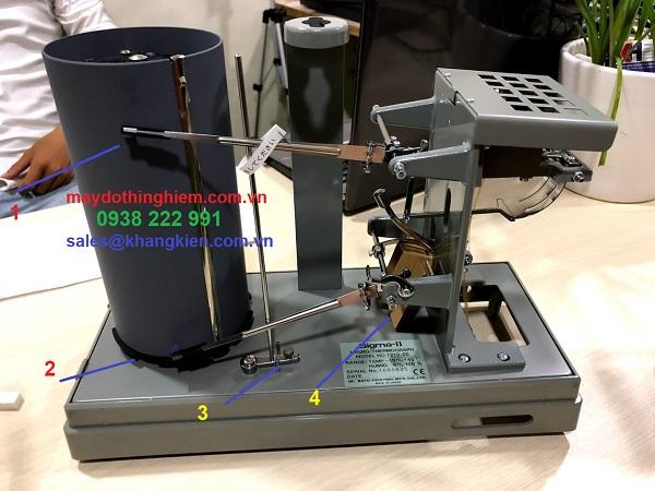 Hướng dẫn thay giấy nhiệt kế sato 7211-00 NSII-Q