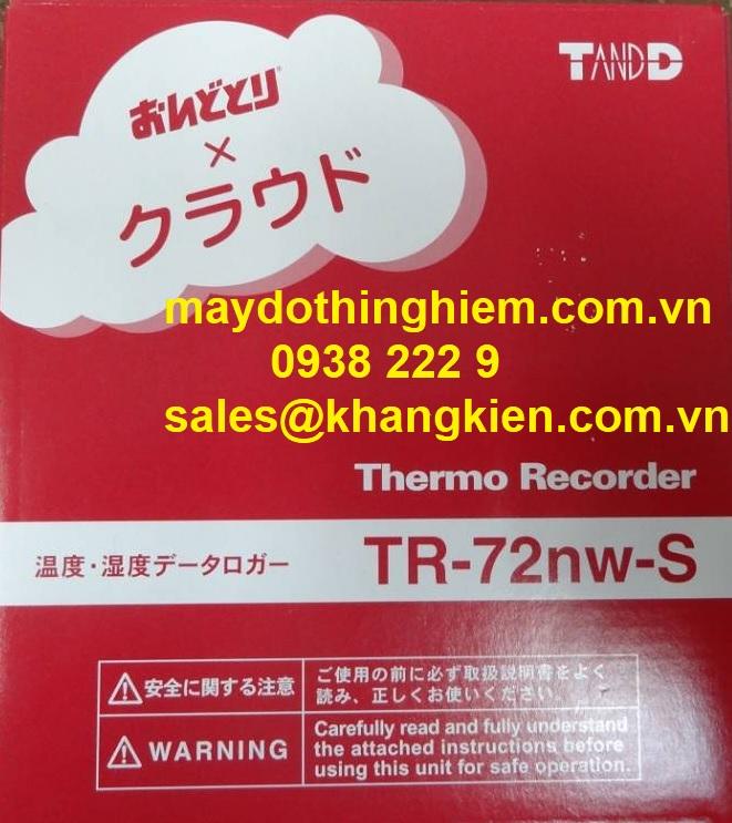 Nhiệt ẩm kế tự ghi T&D TR-72nw-S - maydothinghiem.com.vn