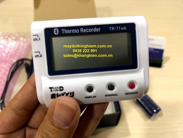 Nhiệt kế tự ghi T&D TR-71wb - maydothinghiem.com.vn - 0938 222 991
