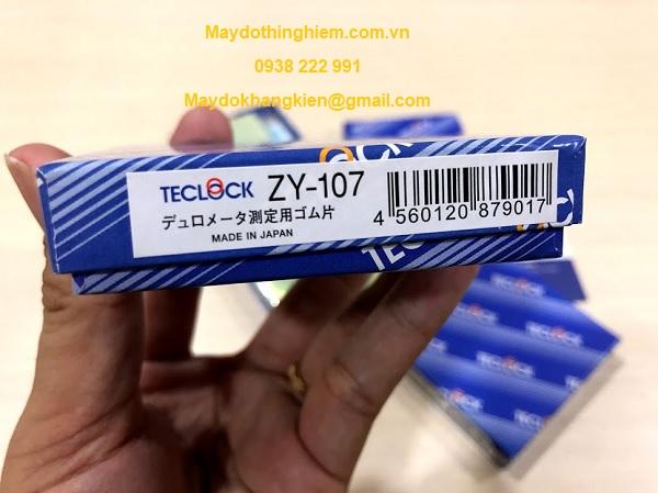 Mẫu chuẩn độ cứng cao su ZY-107 Teclock