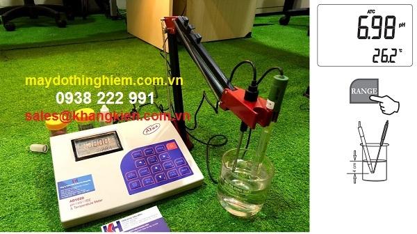 Hướng dẫn sử dụng máy đo pH/mV Adwa AD1020 - chuẩn đầu dò
