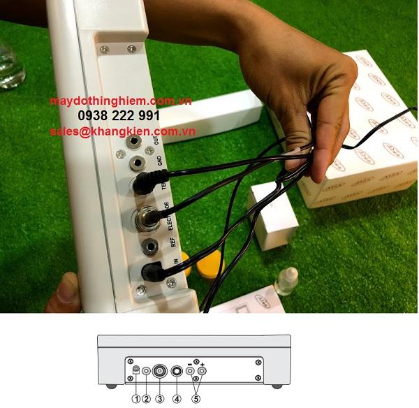 Hướng dẫn sử dụng máy đo ph AD1030 Adwa - công kết nối AD-1030