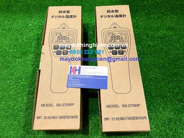 Đánh giá nhiệt kế SATO SK-270WP - cung cấp nguyên hộp