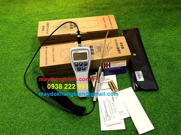 Đánh giá nhiệt kế SATO SK-270WP - Đại Lý độc quyền