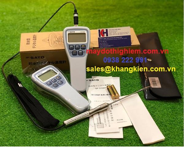 Đánh giá nhiệt kế SATO SK-270WP - maydothinghiem.com.vn