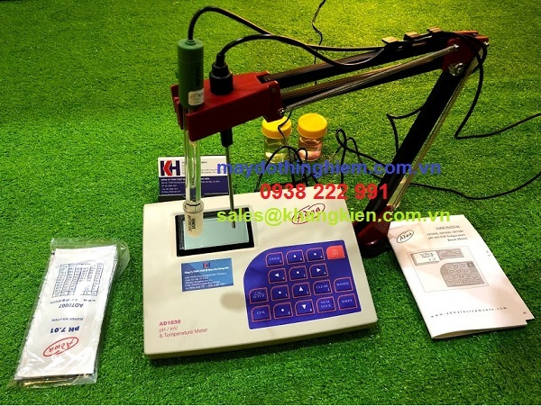 Hướng dẫn sử dụng máy đo ph AD1030 Adwa