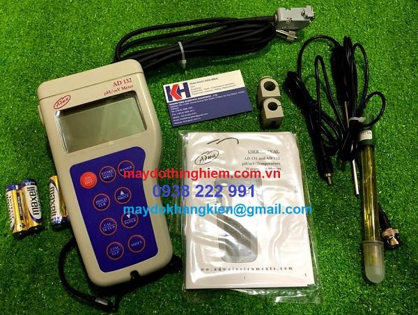 Hướng dẫn sử dụng máy đo pH Adwa AD132