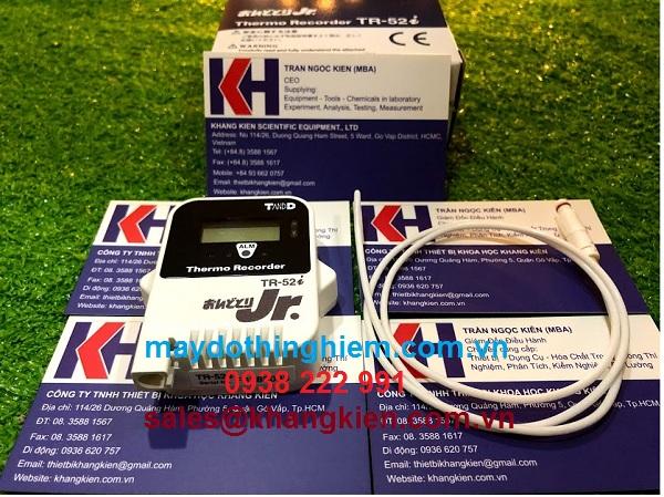 Hướng dẫn sử dụng nhiệt kế TR-52i - maydothinghiem.com.vn