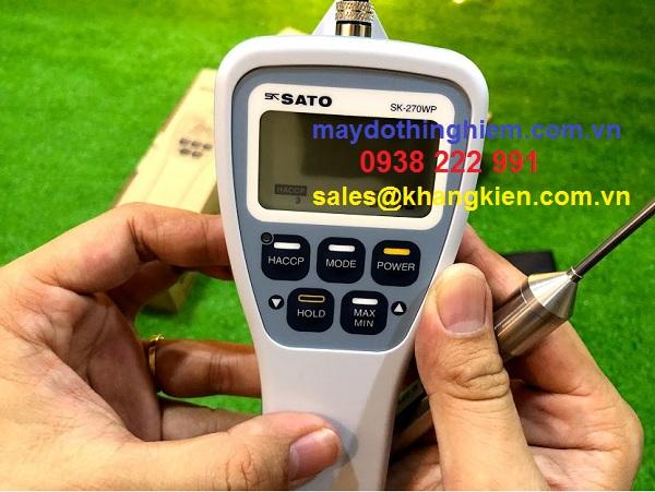 Hướng dẫn sử dụng nhiệt kế SK-270wp