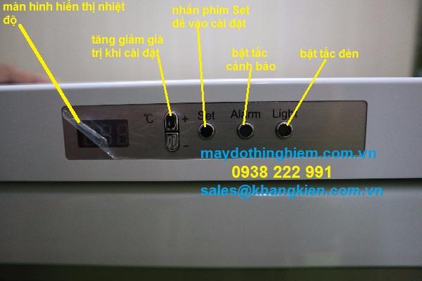 Bàn phím của thiết bị Hướng dẫn sử dụng tủ vắc-xin HYC-118