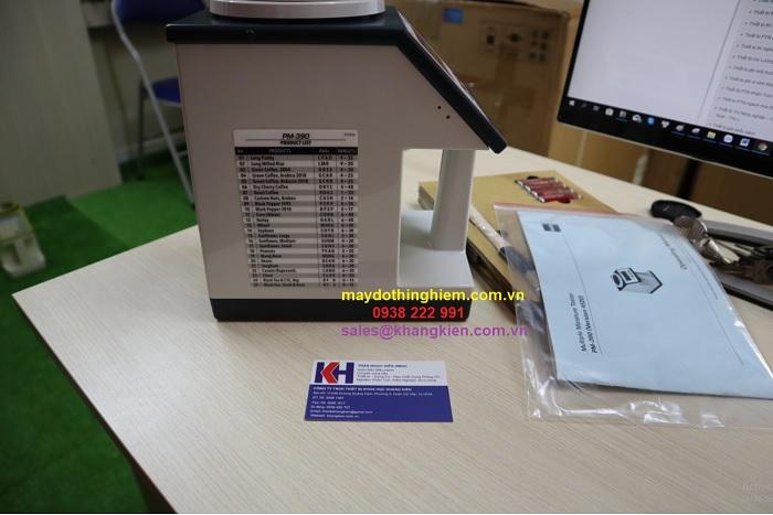 Máy đo độ ẩm nông sản kett pm 390 - khangkien.com.vn