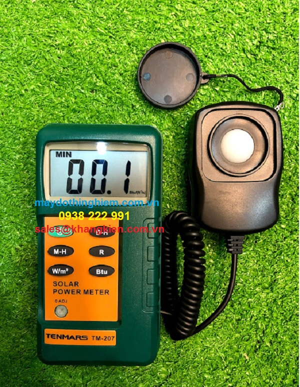 sử dụng máy đo bức xạ tenmars TM 207 đúng cách - maydothinghiem.com.vn