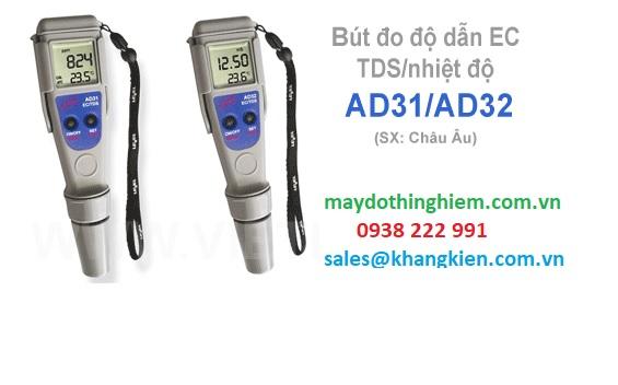 Bút đo TDS nhiệt độ AD31 và AD32-Top những máy đo pH tốt nhất 2019.jpg