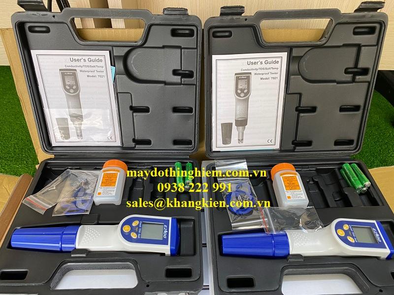 bút Gondo 7021 là thiết bị chuyên đo mặn với độ chính xác cao