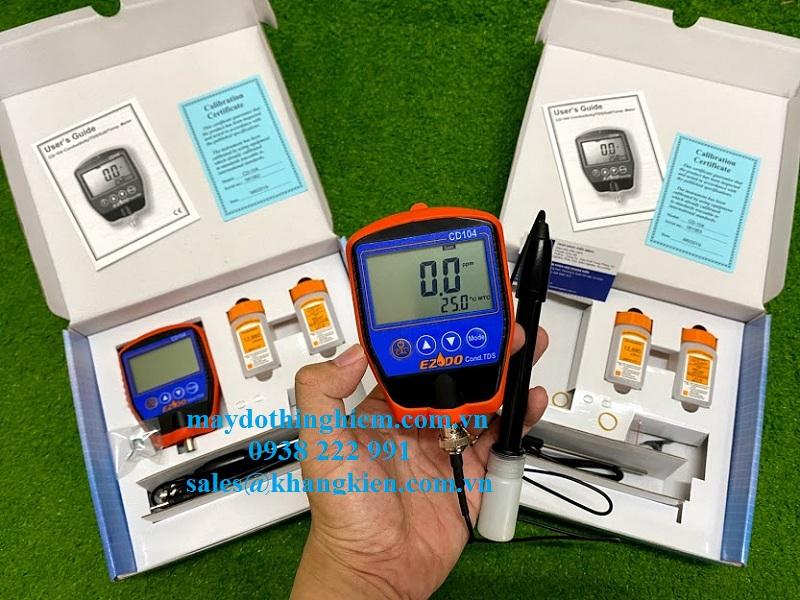 Một số thiết bị đo độ mặn chuẩn nhất hiện tại Gondo CD-104