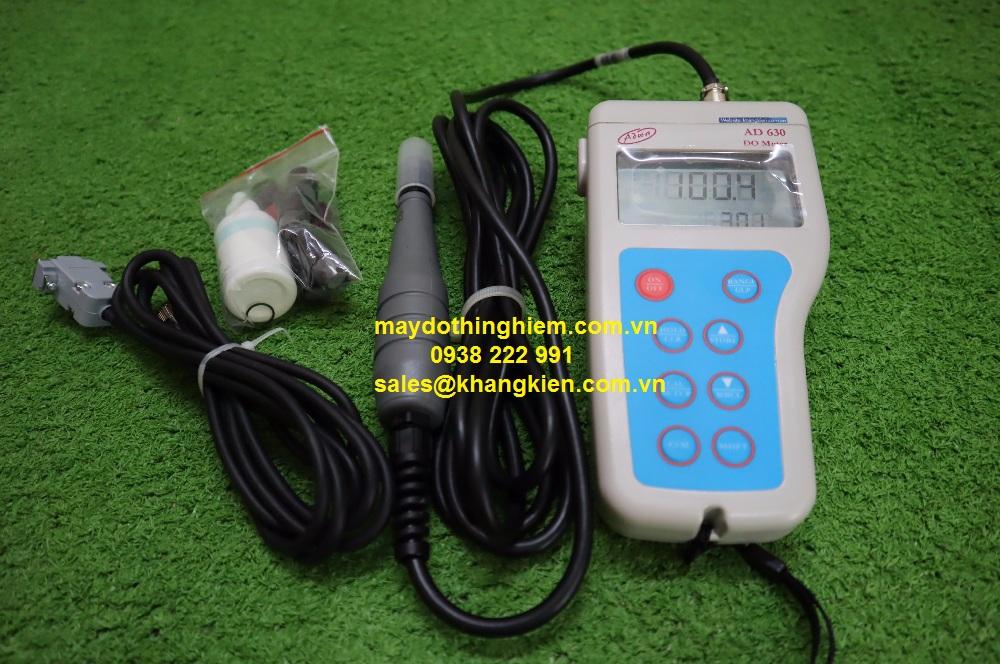 Hướng dẫn sử dụng máy đo Oxy hòa tan cầm tay AD630