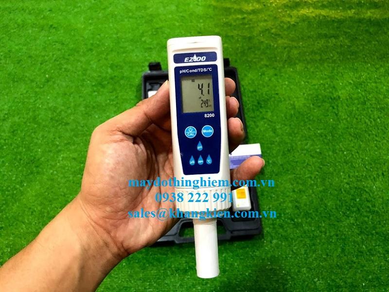 Cách kiểm tra chất lượng nước giếng dùng Bút đo đa chỉ tiêu Gondo 8200 pH TDS Cond Salt Nhiệt độ